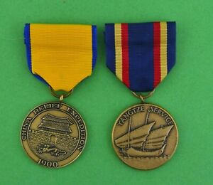 Yangtze-Service-amp-1900-China-Relief-Expedition-US-Marine-Corps-Medals-full-size