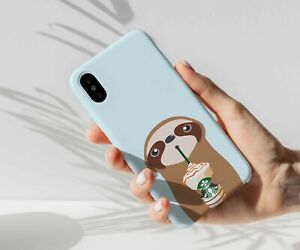 Sloth-coffee-phone-case-iPhone-11-Pro-Max-XS-X-8-8-7-Plus-Galaxy-S8-S10-Note-9