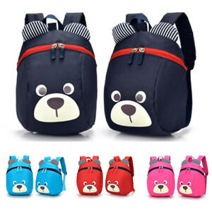 Boys-Girls-Backpack-Cartoon-Bear-Shape-Children-Kids-Rucksack-Travel-School-Bags