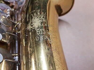 1976 King 613 Alt / Alto Sax / Saxophone - Made In Usa Reinigen Der MundhöHle.
