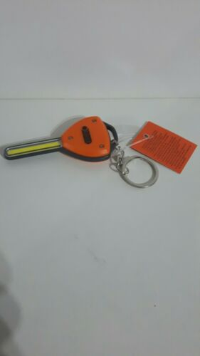 Object Key Shape COB LED Lightweight Torch Light Keyring Batteries Included
