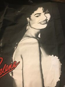 07ca412e63735 G5 Selena Quintanilla T Shirt Mens L 90s Tejano Singer Como La Flor ...