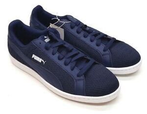 d4b357a72b98 NEW  Puma Men s Smash Knit C Shoes Sneakers Navy Athletic Tennis ...