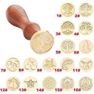Ancient-Tree-Metal-Sealing-Wax-Seal-Stamps-Wood-Handle-Wedding-Invitations-Decor