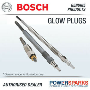 BOSCH 0250403008 GLP202 Sheathed Element Glow Plug DURATERM HIGH SPEED 6 Pack