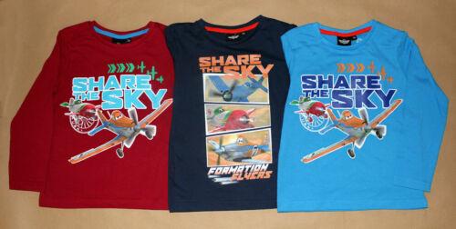 98-128 Shirt Pullover Planes neu! Disney Planes  Kinder Jungen Langarmshirt Gr
