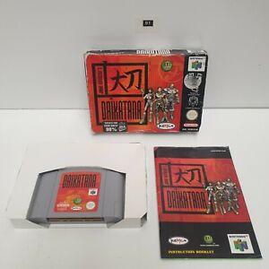 Daikatana Nintendo 64 N64 Juego en Caja Completa PAL oz91