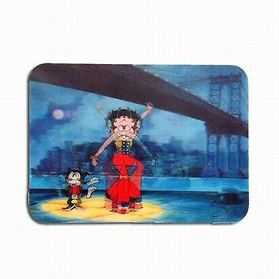 """Betty Boop Refrigerator Magnet 3D Abstract Colors 4x6"""" Lenticular #BB-208-MAL#"""