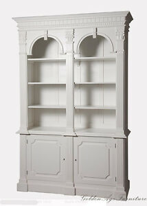 Image Is Loading Made To Order French Provincial Arch Style Bookshelf