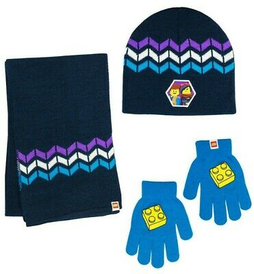 Details about  /LEGO Movie Theme  Hat /& Glove set    one size