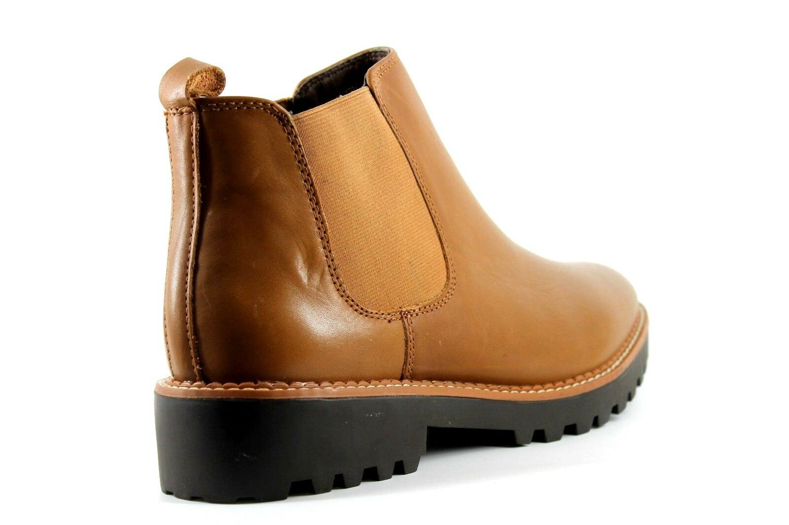 Pier Pier Pier One Mens UK 8 EU 42 Tan braun Leather Pull On Brand New Chelsea Ankle Stiefel    | Outlet  f676e6