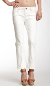 Stitch's Cropped Jeans White 29 NWT
