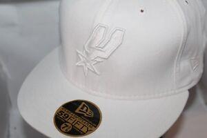 919a35af367 Image is loading San-Antonio-Spurs-New-Era-NBA-Solid-White-