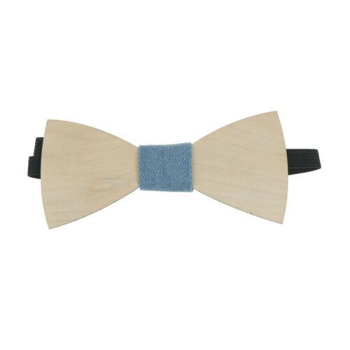 Simple hommes costume en bois noeud papillon marié mariage homme for CH