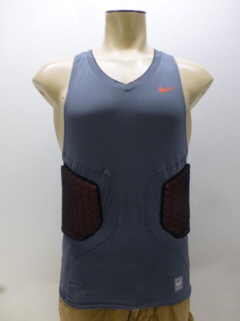 6172933b Nike Pro Combat Compression Dri Fit Tank Top Padded Basketball Shirt mens  sz XL
