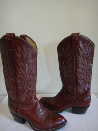 Vintage Ralph Lauren Western Brown Leather Cowboy