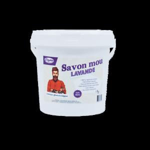 Savon Noir Mou Lavande à l'huile de Lin - 1Kg - Français et Artisanal