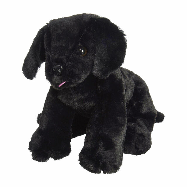 Melissa Doug Benson Black Lab 7484 Plush Toy Ebay