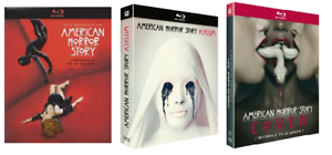 COFFRET BLU RAY SERIE HORREUR : AMERICAN HORROR STORY - SAISONS 1 A 3 INTEGRALES