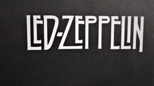 a Led Zeppelin Vinyl Decal for laptop windows wall car boat