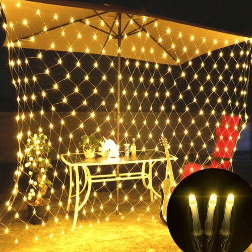 US 96 LED Net Mesh Fairy String Light Christmas Wedding Party Fairy String Light