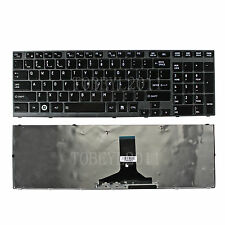NEW Laptop US Keyboard with Frame For Toshiba Satellite P775-S7320 P775-S7365
