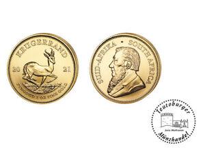 Südafrika  2021 Krügerrand  Anlagemünze  * 1 Oz Gold * ST