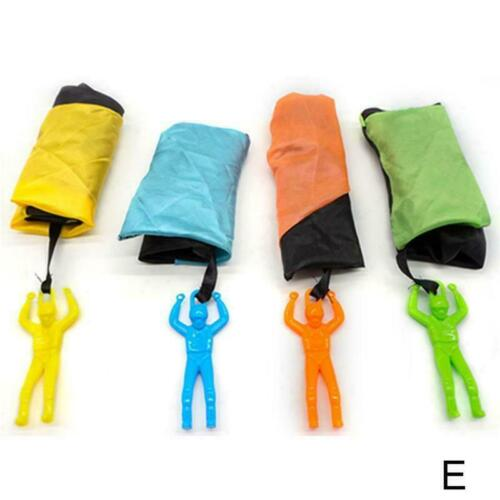 Outdoor Mini kids Educational Funny Toy Playing Hand Throwing Parachute H4L8
