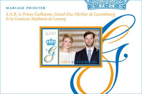 """1954 Block 30** /""""Hochzeit in Luxemburg/""""  aus 2012 Luxemburg Mi"""
