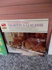 Fritz Weichbrodt: Trompete a la Klassik, eine Schallplatte