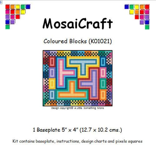 "Mosaicraft Pixel Art Craft Kit /""Blocchi di Colore/'s pixelhobby"