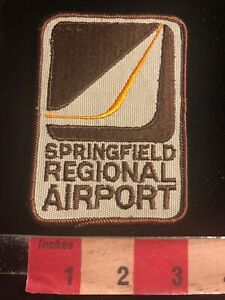Vintage-SPRINGFIELD-REGIONAL-AIRPORT-Aviation-Airplane-Patch-03WE