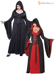 Size 16-20 Ladies Deluxe Sexy Vampire Costume Halloween Plus Size ...
