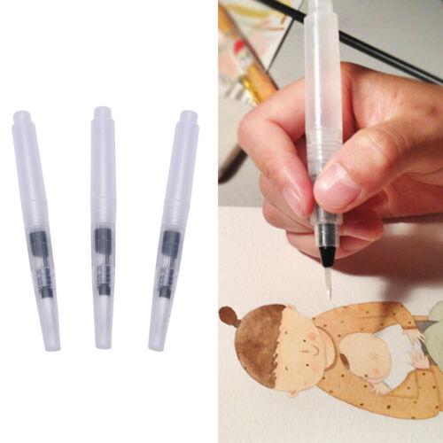 3x pluma de tinta piloto para el agua pincel acuarela pintura caligrafía SC