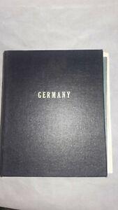 Large-Germany-Stamp-Album-Minkus-1800-039-s-through-Modern-1000-Stamps