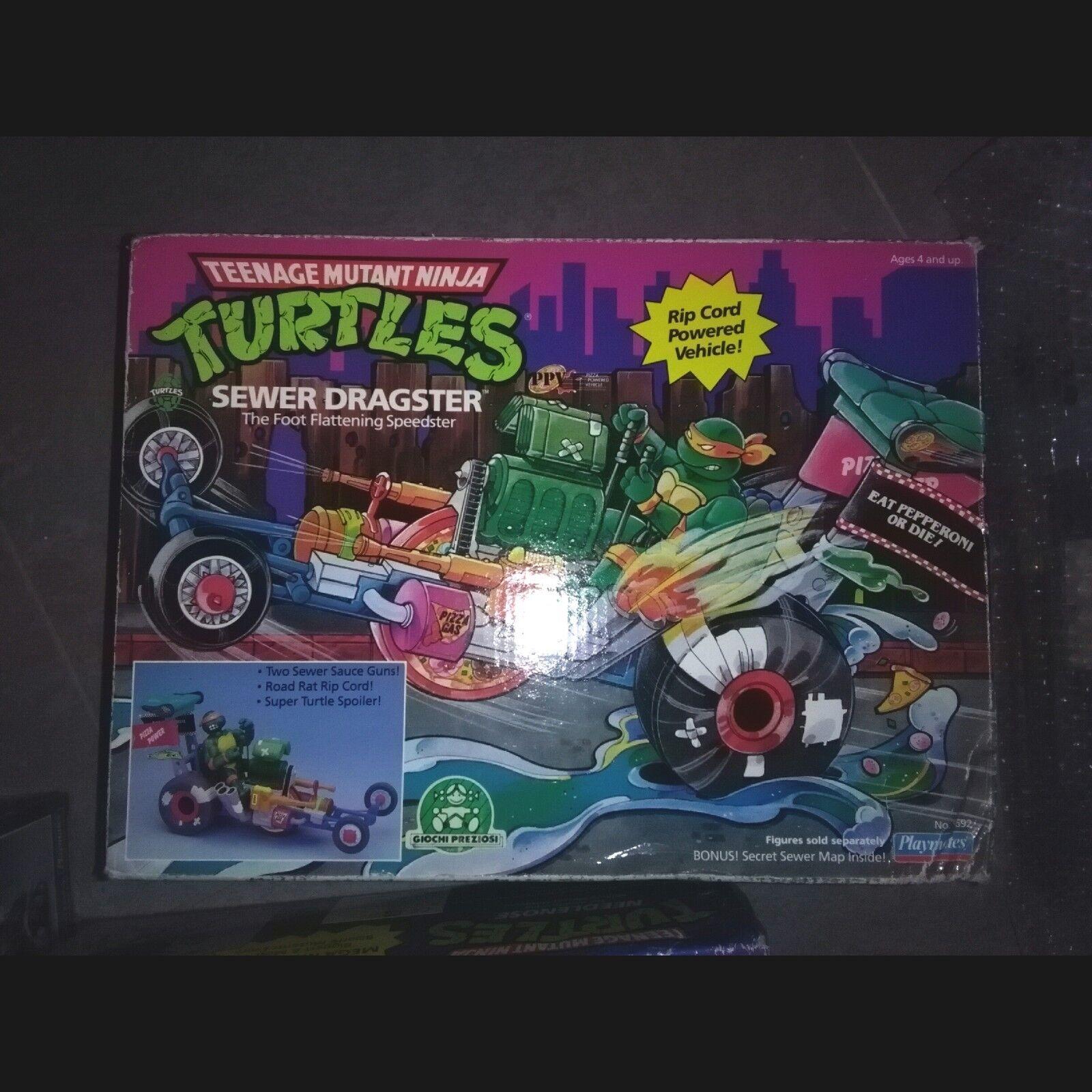 Teenage Mutant Ninja Turtles - SEWER DRAGSTER -   TMNT - MOC - Boxato