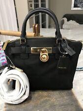6b625da58e26 item 5 Michael Kors Hamilton Nylon Medium Top-Zip Messenger Bag   Mini Satchel  Black -Michael Kors Hamilton Nylon Medium Top-Zip Messenger Bag   Mini ...