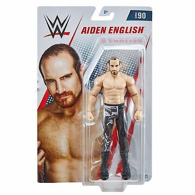 Aiden English WWE Mattel Basic Series 90 Wrestling Action Figure Jouet Neuf DMG Pkg