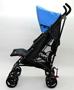 Safety-1st-Buggy-Slim-kompakter-Liegebuggy-mit-Sonnenverdeck-schwarz-hellblau