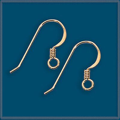 WHOLE SALE LOT 100 14K Gold Filled Earring Finding Ear Wire Hook