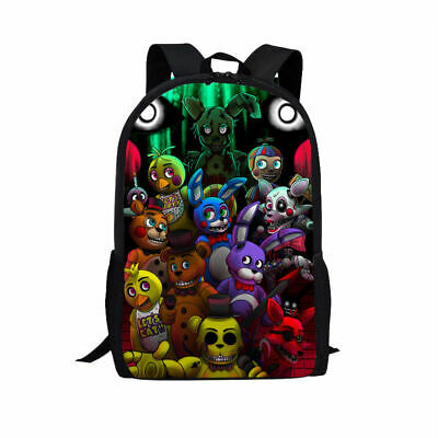 New Five Nights At Freddys Vegeta Son Girls Boys School Backpack Kids