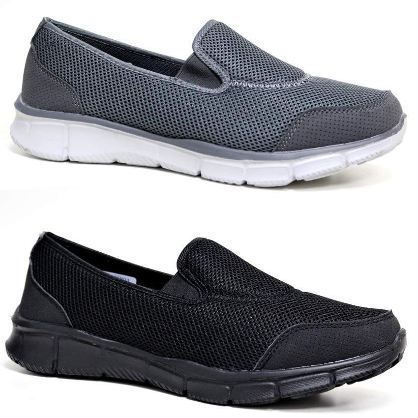 Men's/Women's Mens Slip On Get Fitness Fit Go Walking Casual Fitness Get Running Gym Trainers Shoes Size flagship store Selected materials Fashion dynamic VV120 224982
