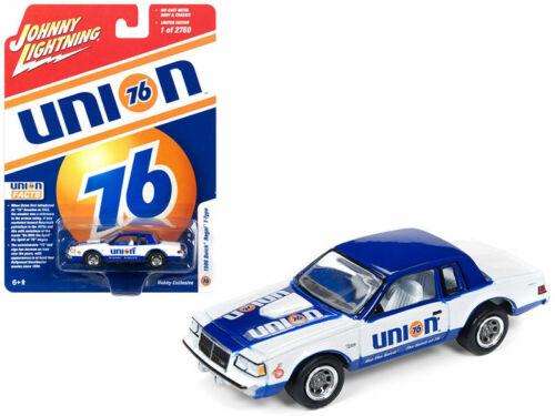 1986 Buick Regal T-Type Union Race Car 76 *RR* Johnny Lightning HOBBY 1:64