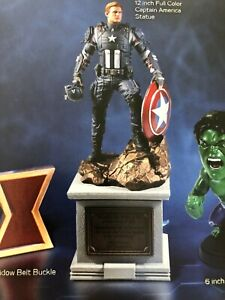 12-034-Captain-America-Statue-ONLY-from-Marvel-039-s-Avengers-Collectors-Edition-PS4