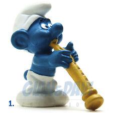 PUFFO PUFFI SMURF SMURFS SCHTROUMPF 2.0095 20095 Oboist Smurf Puffo con Oboe 1A