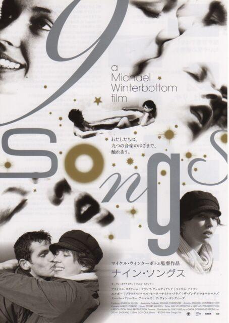 9 Songs - Original Japanese Chirashi Mini Poster - Michael Winterbottom