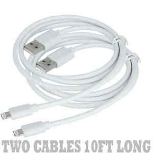 2-X-10ft-Lightning-USB-Sync-Charger-Cable-7-6-6S-Plus-5S-5C