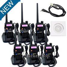 6PCS Portable Radio Scanner SET Police Fire Transceiver UHF VHF HAM Antenna NEW