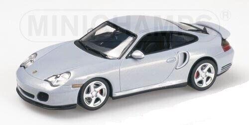PORSCHE 911 Turbo 1999 frosty Blau 1 43 MINICHAMPS 430069302