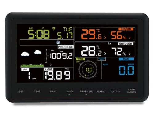 Zeus Smart Wireless WiFi Weather Station 10 in 1 With Remote Monitoring /& Alerts